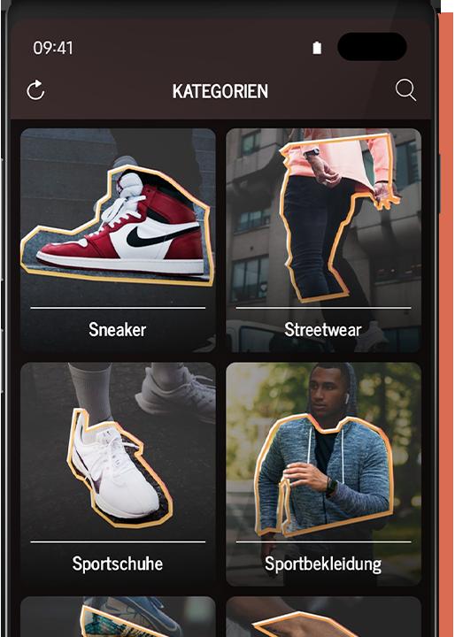 Dealtime App Kategorien